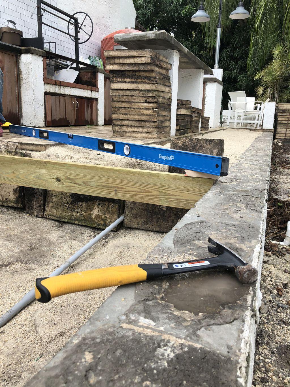 Wood Deck Zuri by Construction Voss