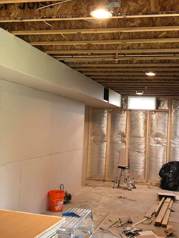 Shoreview basement remodel