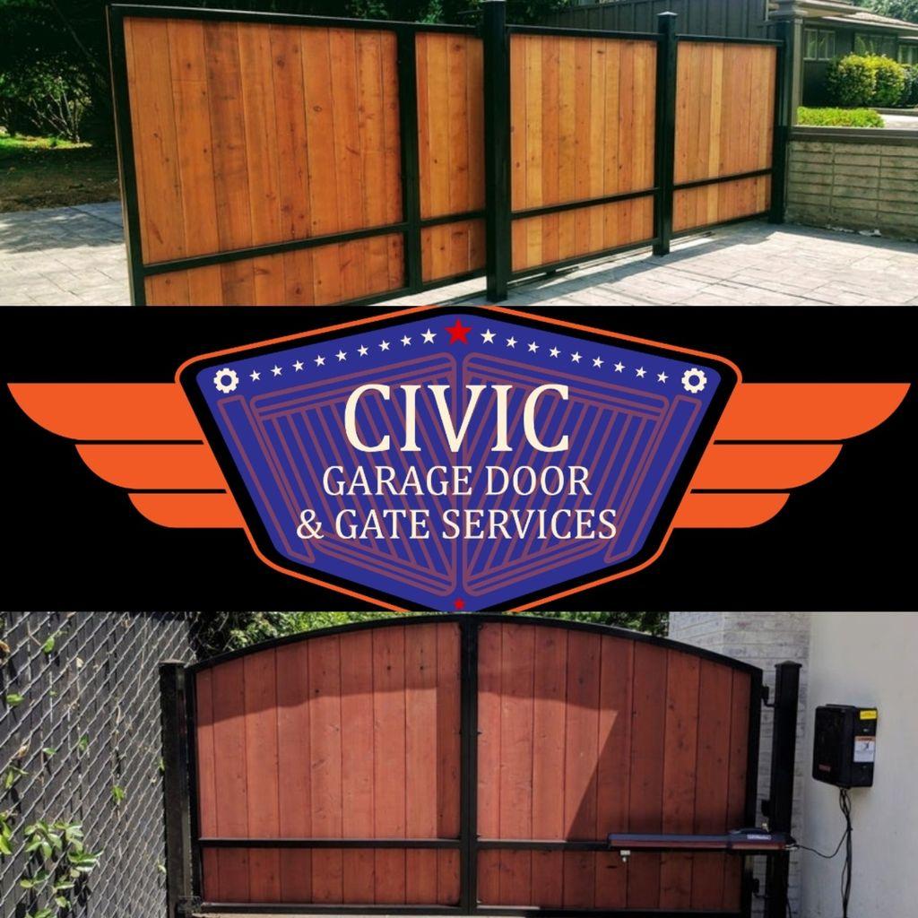 Civic garage&gate repairs