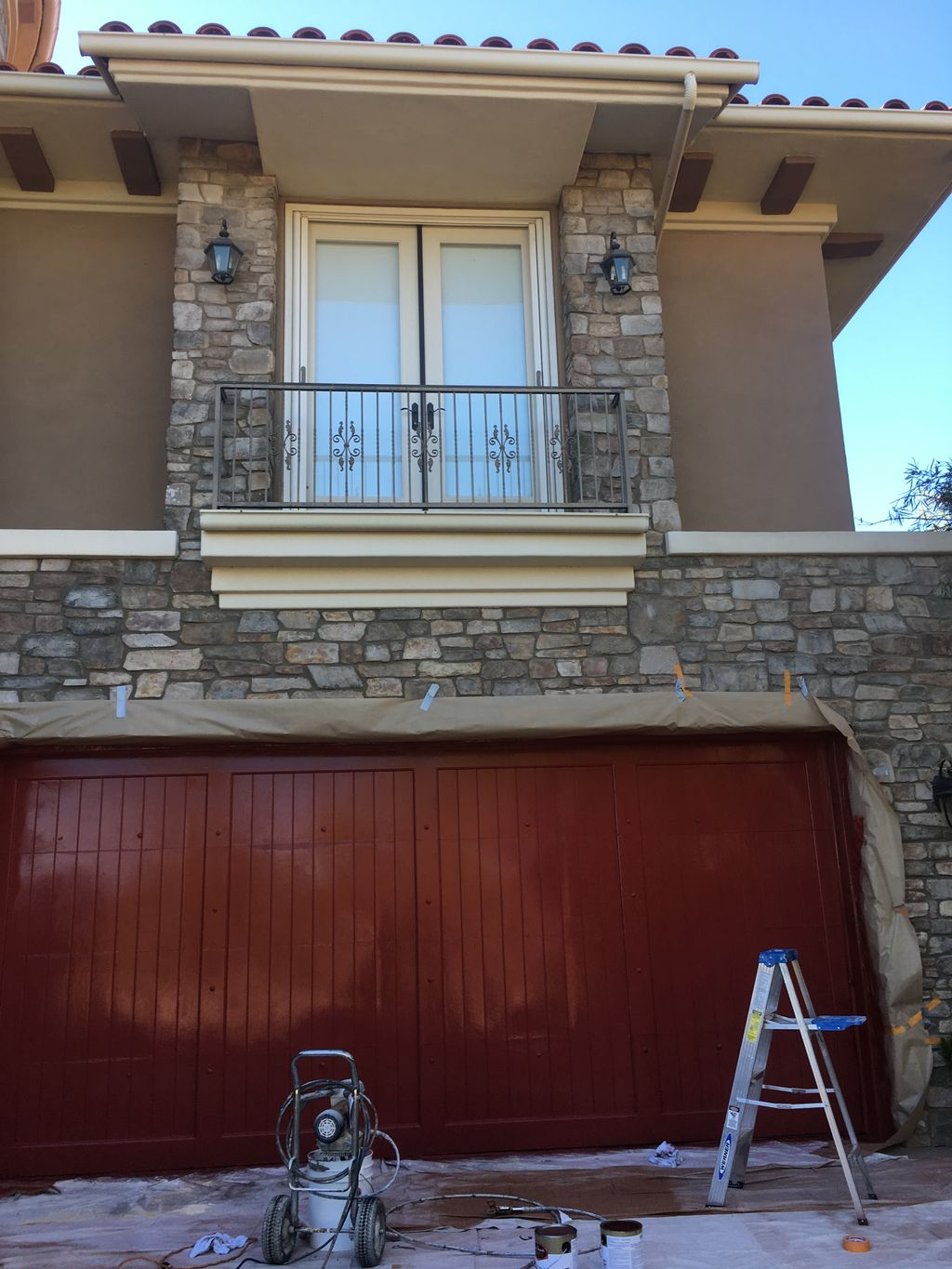 Professional services for Exterior painting