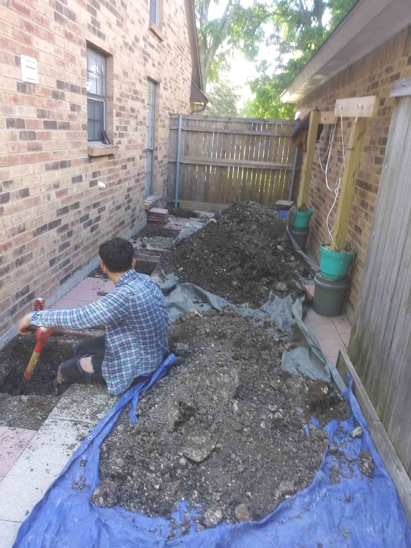 Foundation repair job