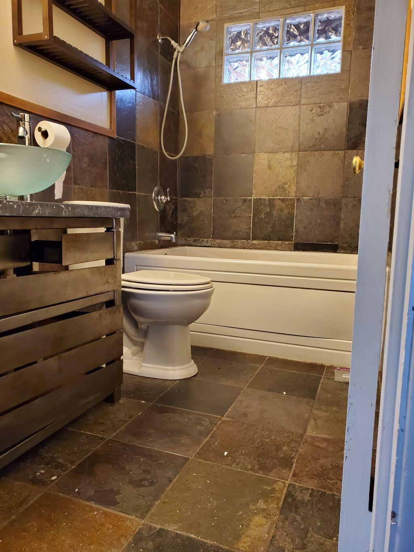 full bathroom tub remodel