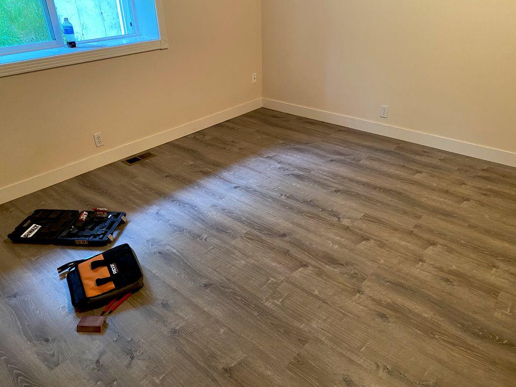 Full interior new floors new base