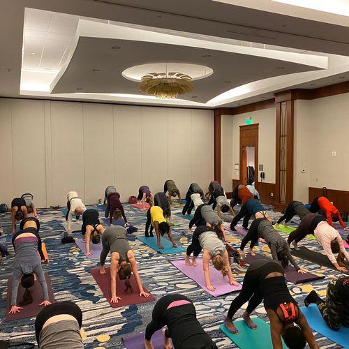 City of Alexandria - Community Yoga Event
