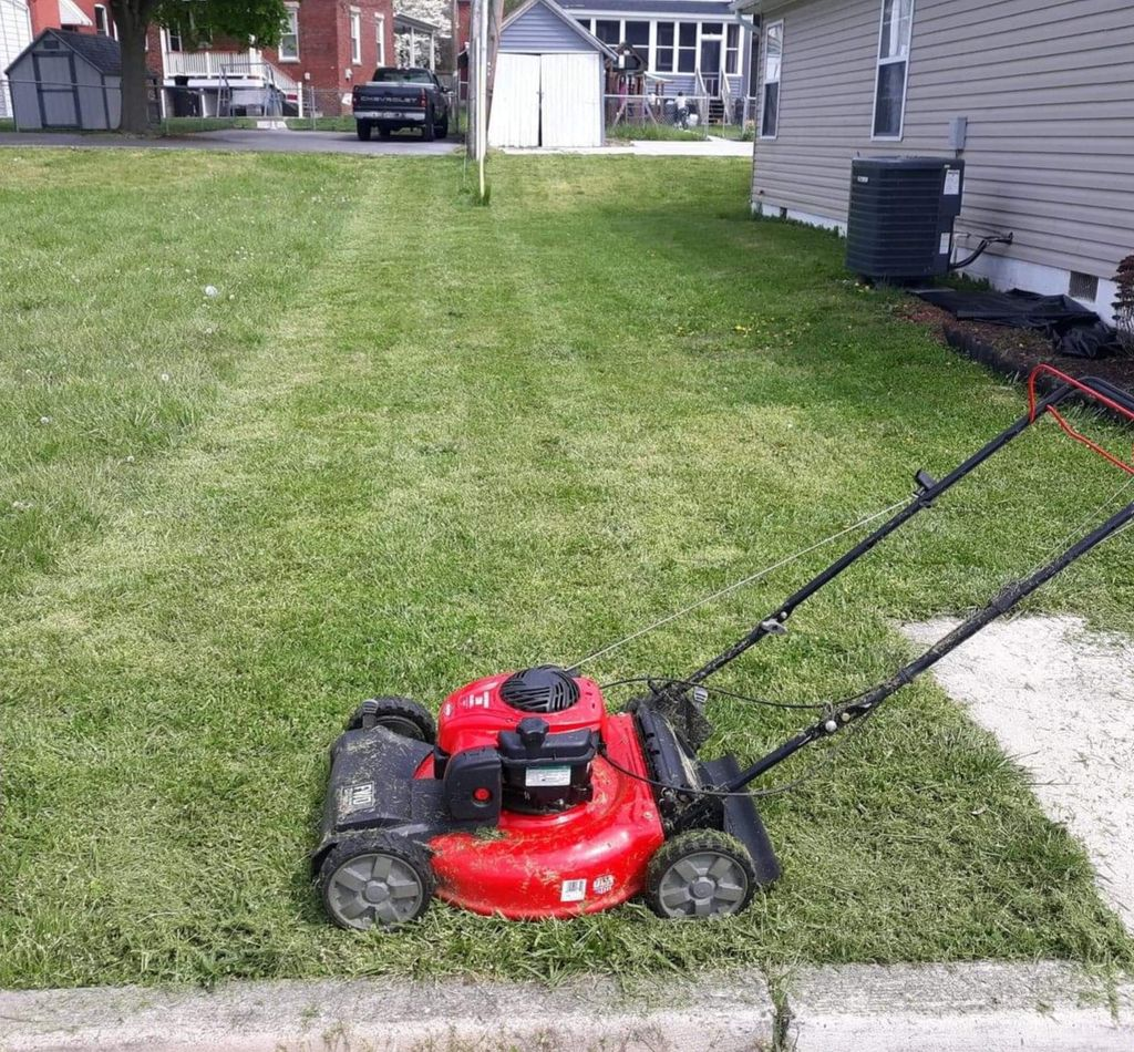 Basic Mowing and Trim