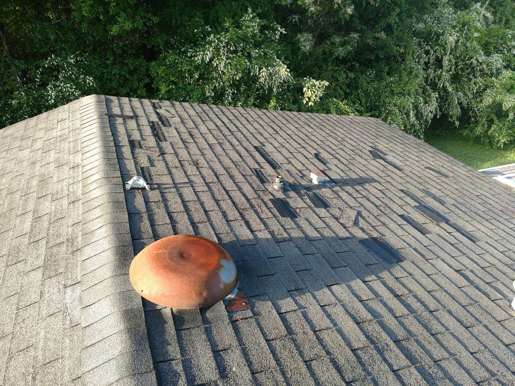 Double wide original roof