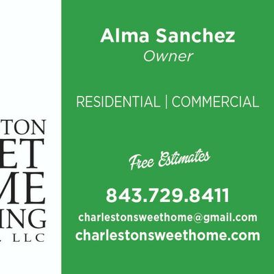 Avatar for CHARLESTON SWEET HOME CLEANING SERVICE LLC.