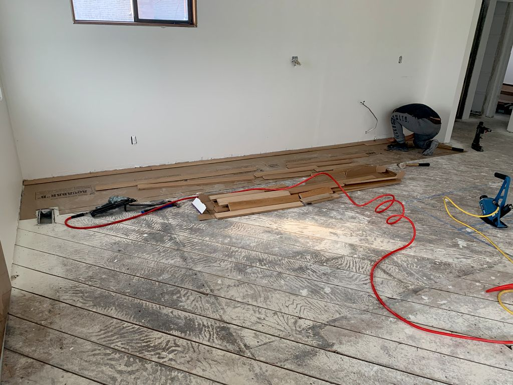 Floor Installation  - Seattle 2020