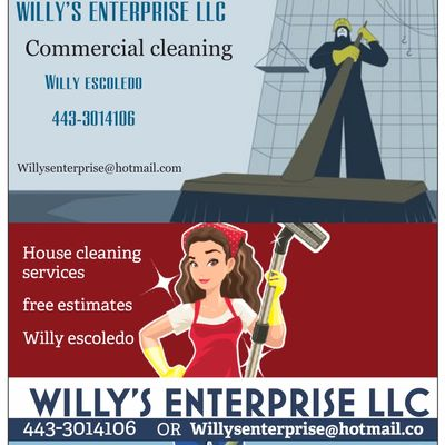 Avatar for Willy's enterprise (cleaning services) Glen Burnie, MD Thumbtack