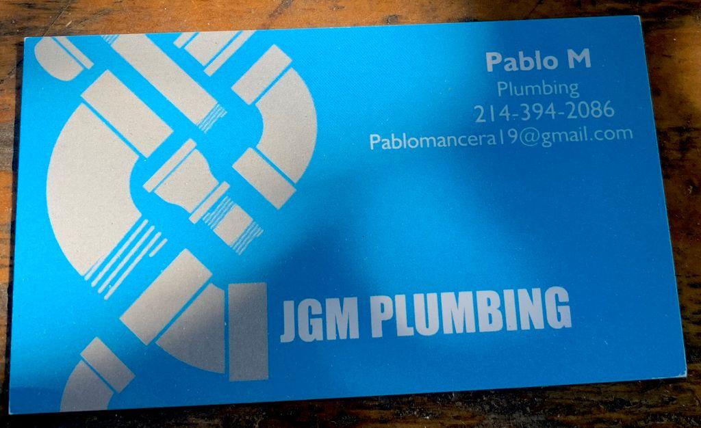 JGM Plumbing