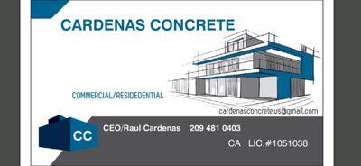 Avatar for CARDENAS CONCRETE Manteca, CA Thumbtack