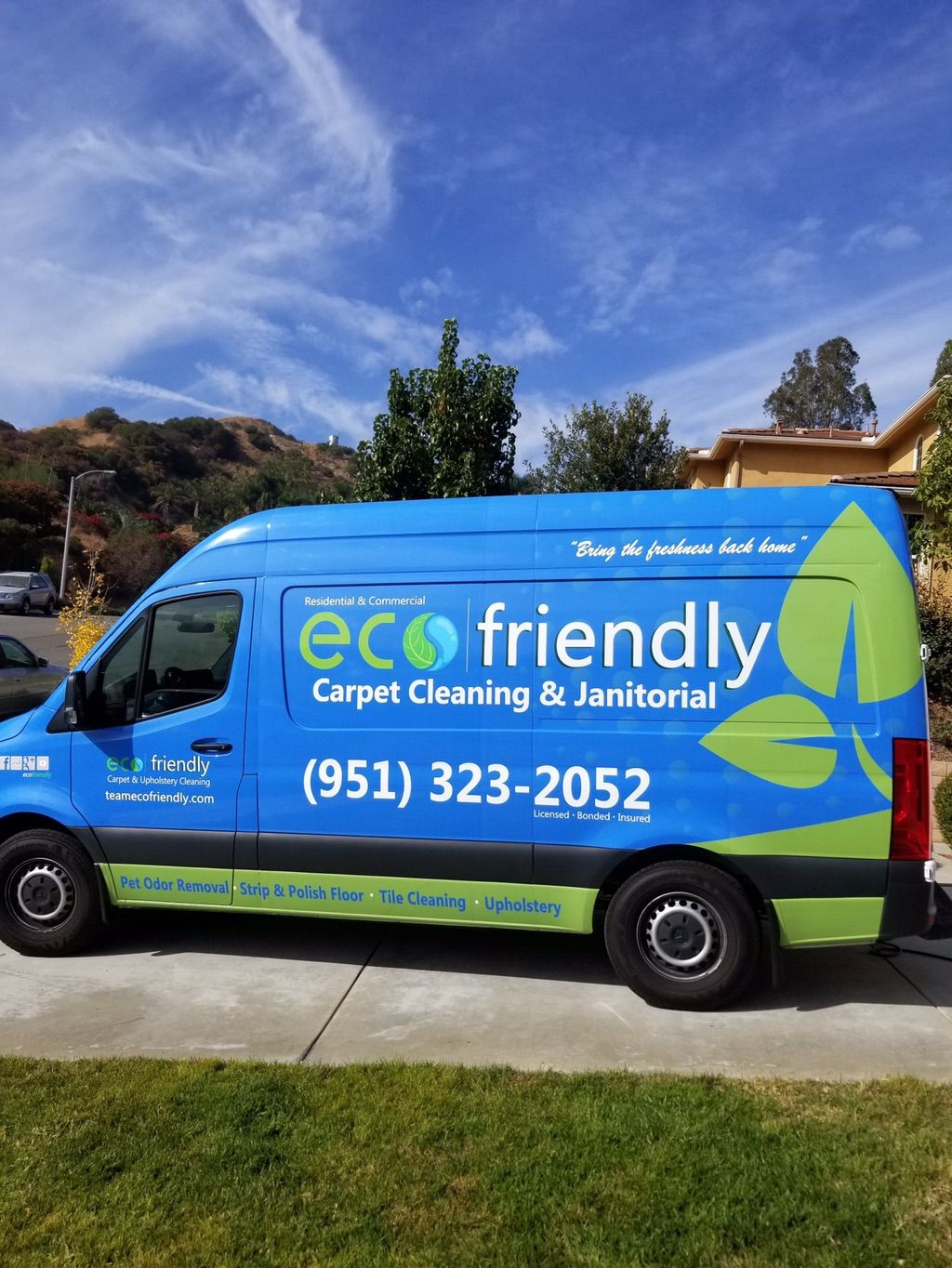 Ecofriendly Carpet and Upholstery Cleaning