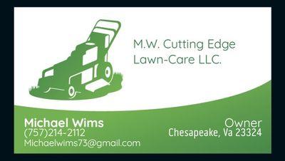 Avatar for M.W. Cutting Edge Lawn-Care LLC. Chesapeake, VA Thumbtack