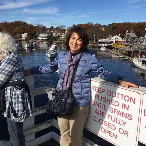 In beautiful Maine enjoying the fall weather