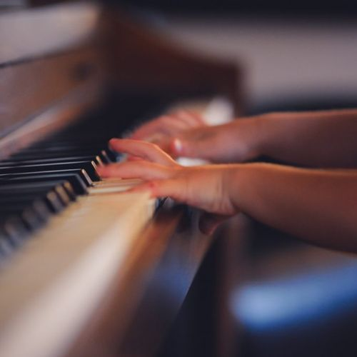 Nothing is more wonderful to me than watching you child discover the piano for the first time.