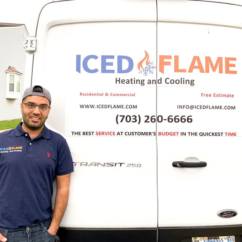 ICED FLAME