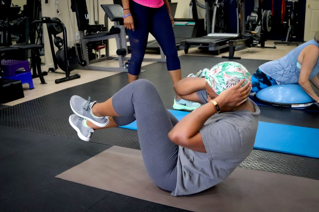 Eight Group Personal Training Sessions a Month