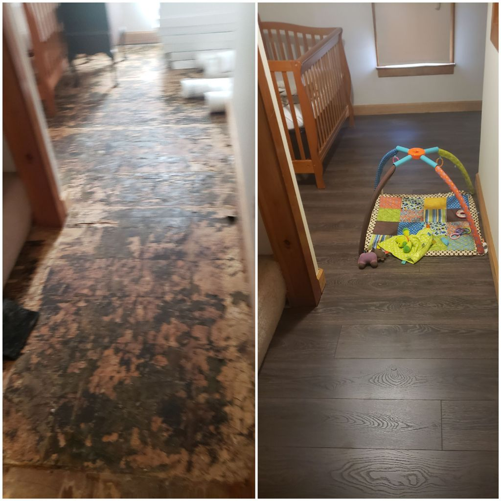 Floor replacement  or installation