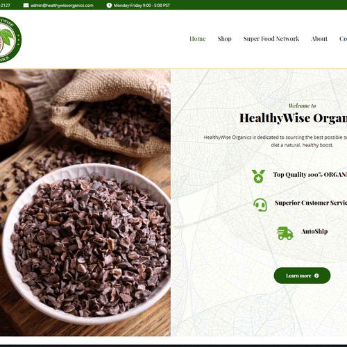 healthywiseorganics.com