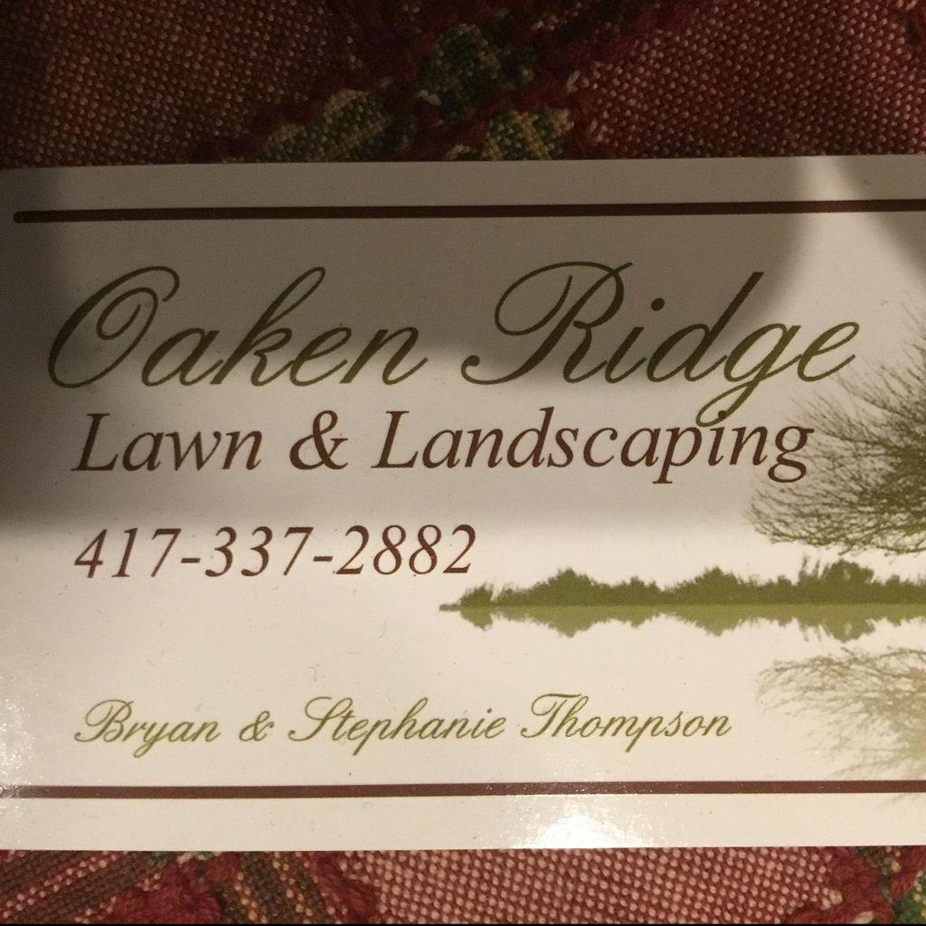 Oaken Ridge Lawn & Landscaping