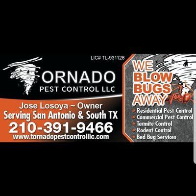 Avatar for Tornado Pest Control LLC San Antonio, TX Thumbtack