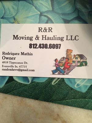 Avatar for R&R Moving and Hauling