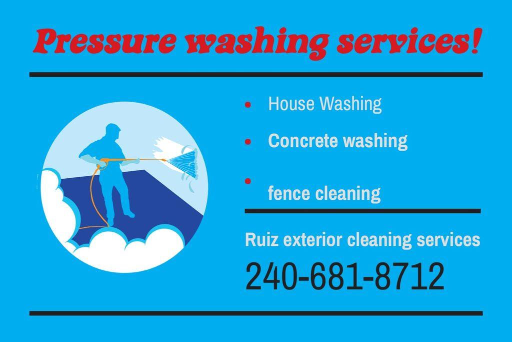 Ruiz Exterior Cleaning Services