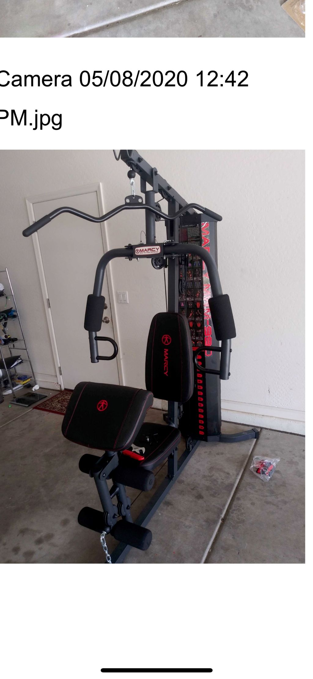 Marcy 150lbs Home Gym