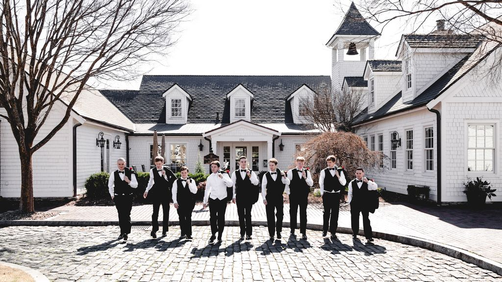 Wedding at the Trump National Golf Club
