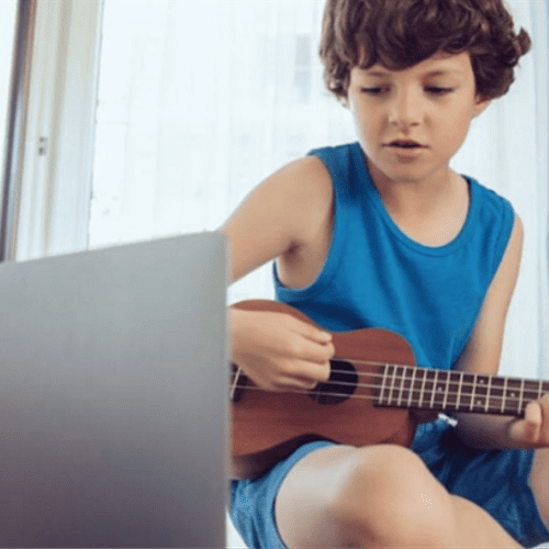 Online music and voice lessons are available also!