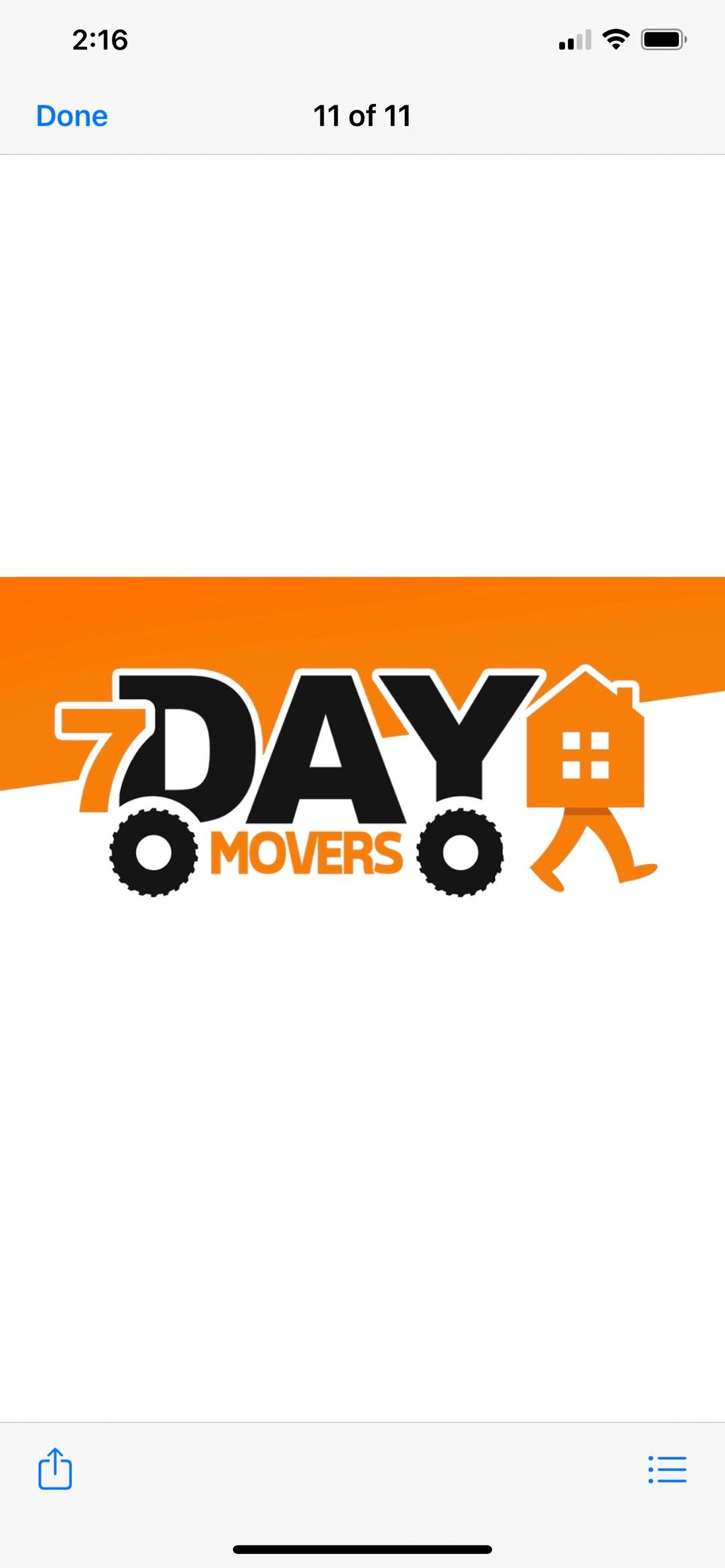 7 Day Movers