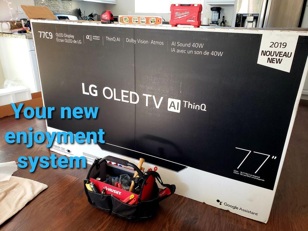Smart UHD TV Mounting