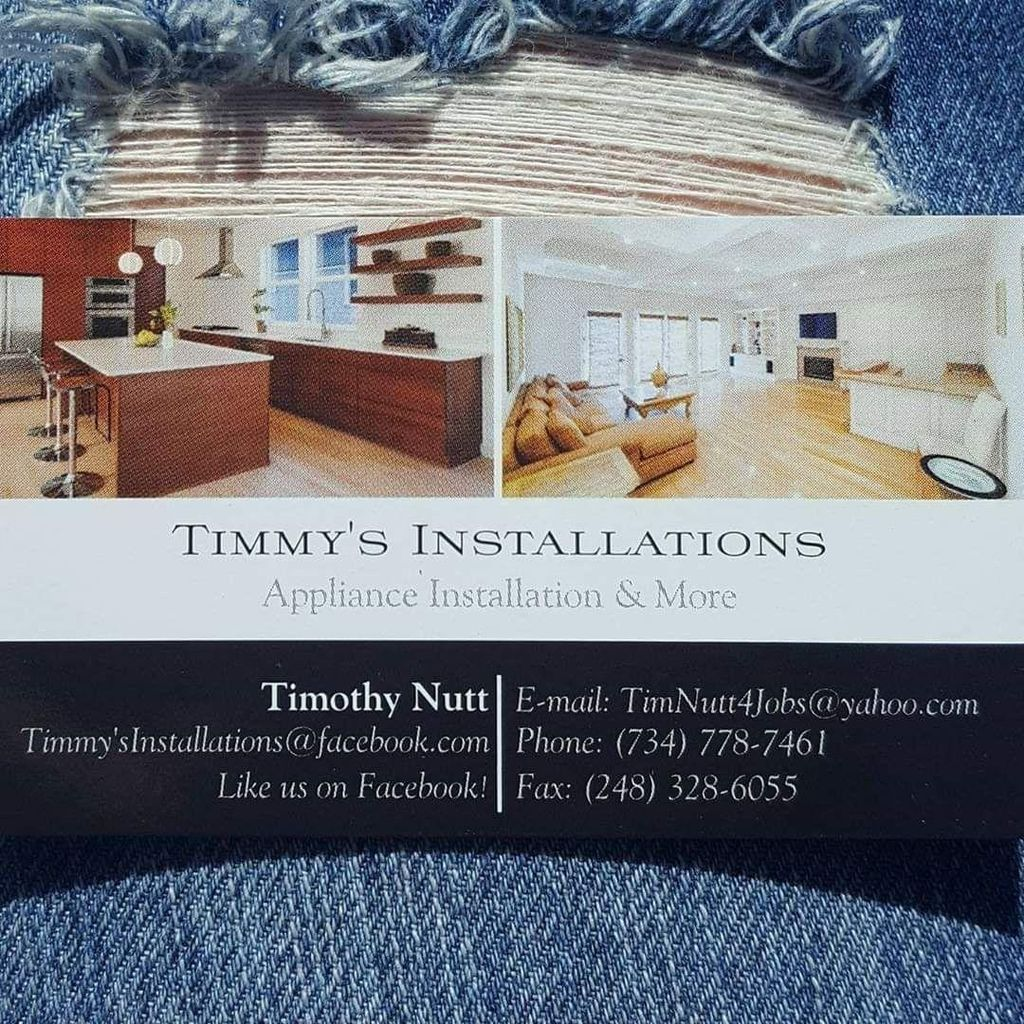 Timmy's Installations