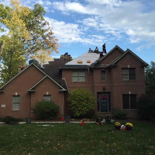 Roof replacement in Massillon, OH