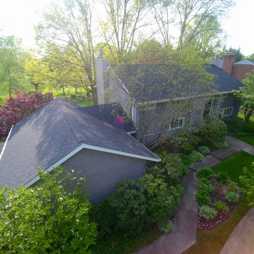 Roof and siding replaced in Jackson Township, OH