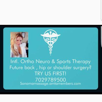 Avatar for International OrthoNeuro & Sports Therapy LLC