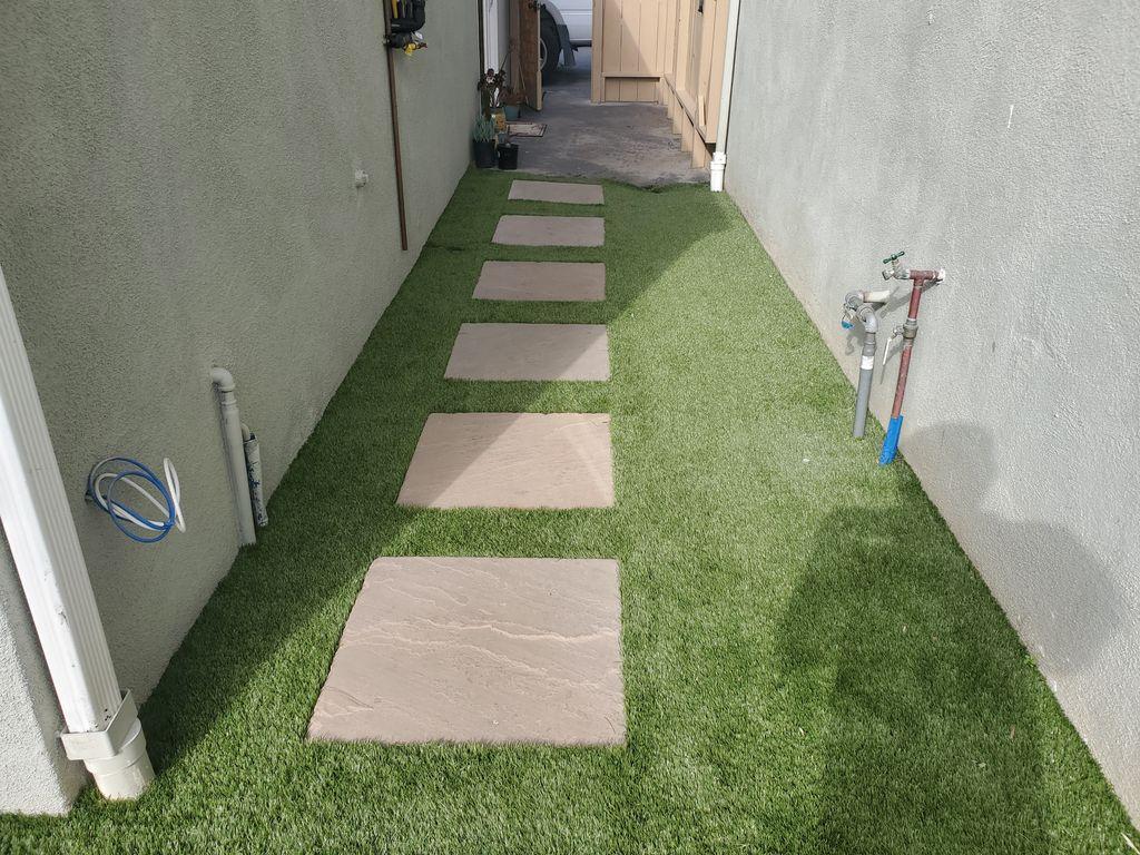 Turf installation