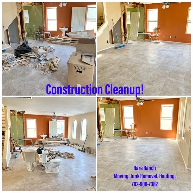 Remodeling, Construction Cleanup