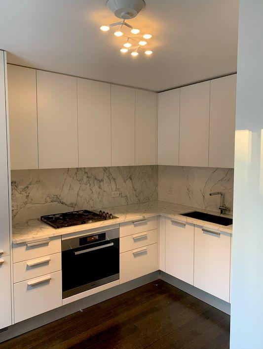 U shaped Kitchen Remodel w appliances