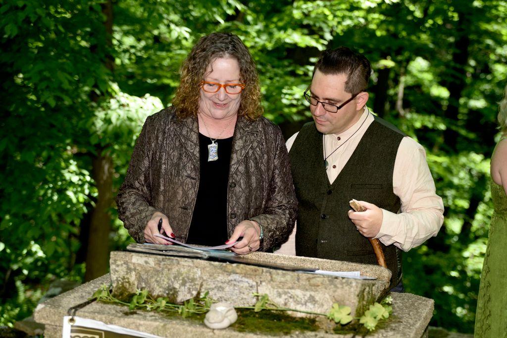 Modern Druid Hand-Fasting Ceremony