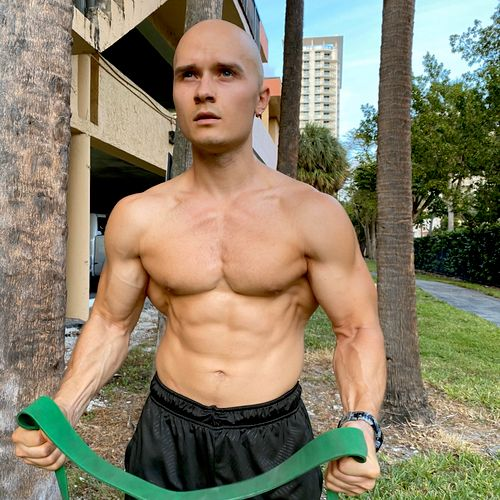 Resistance bands are great for strength improvements.
