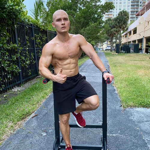 Dips are the best for building the upper body.