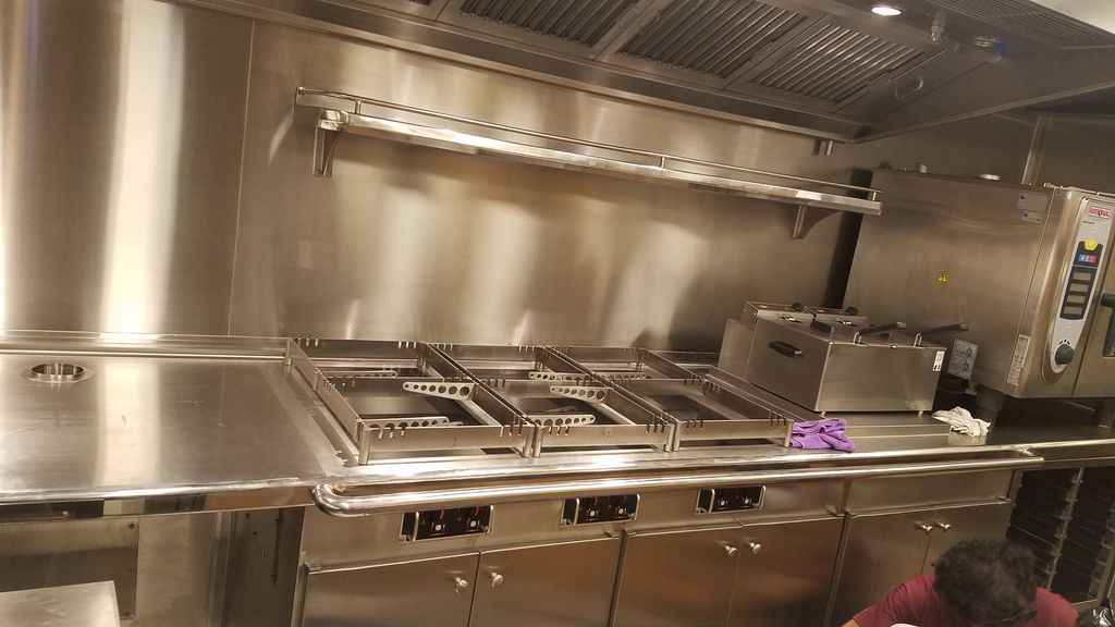 Stainless steel kitchens  restarants