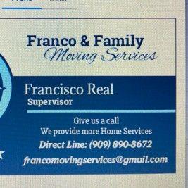 Franco & Family Moving Service