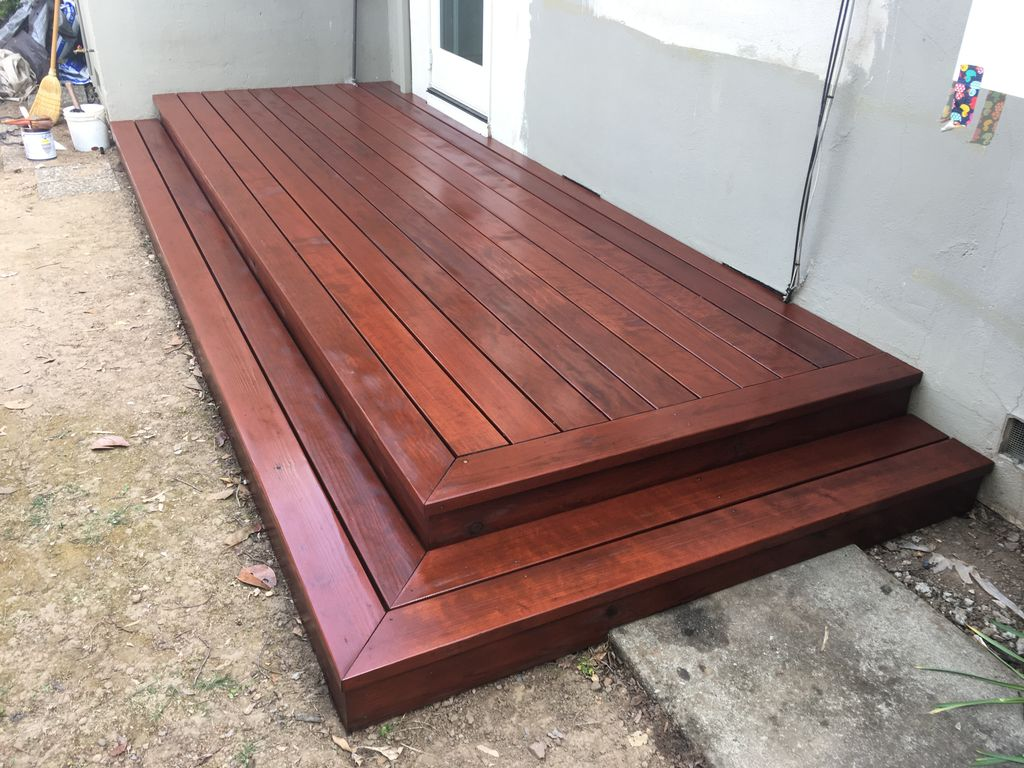 Deck Staining and Sealing - Saratoga 2020