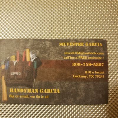Avatar for Handyman Garcia