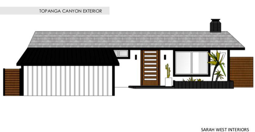 Topanga Canyon Exterior Curb Appeal