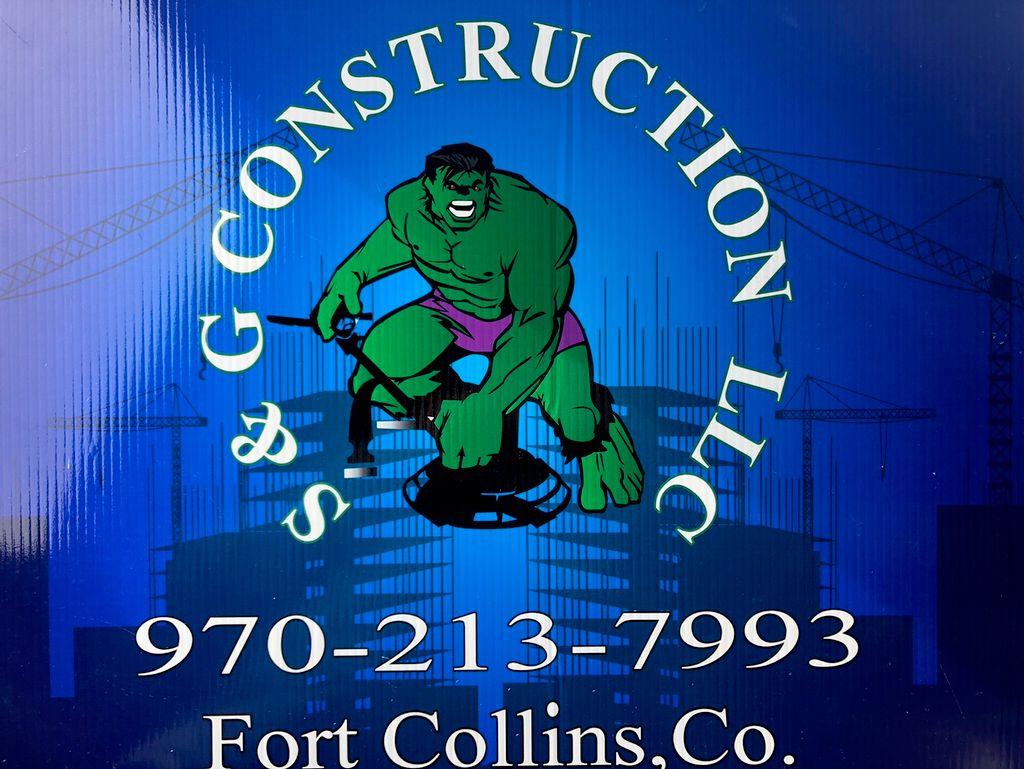 S&G Construction  LLC Fort Collins Colorado