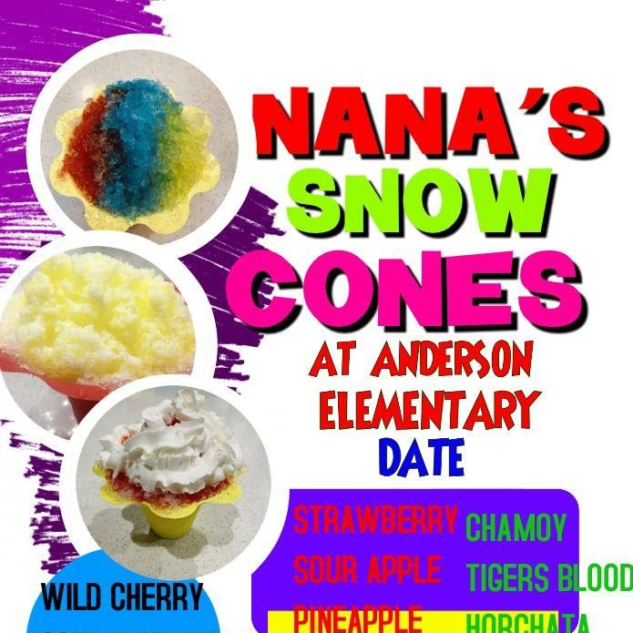 Nana's Snow Cones 🍧