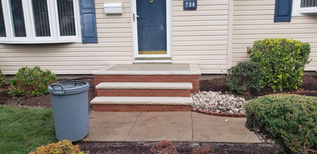 Steps, Pavers and stone